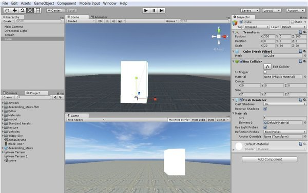 Adding A 3D Building