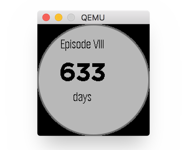 Viewing the App In the Pebble Round
