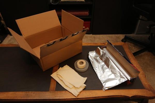 DIY Softbox supplies