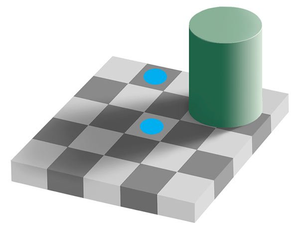 Adelsons Same Color Illusion by Edward H Adelson MIT