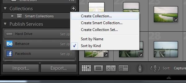 Create Collection Button