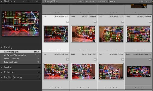 Multi select images