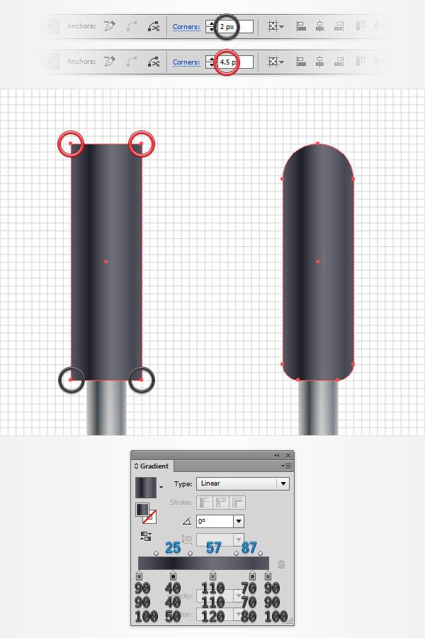 create handles