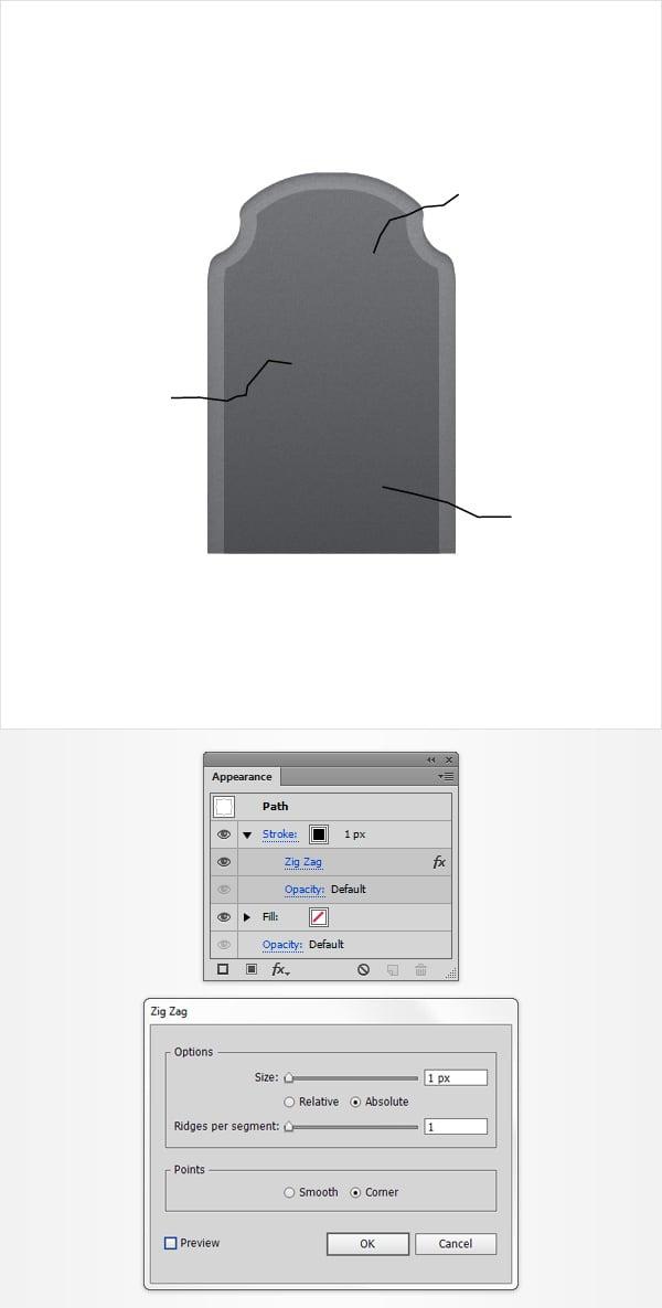 create cracks