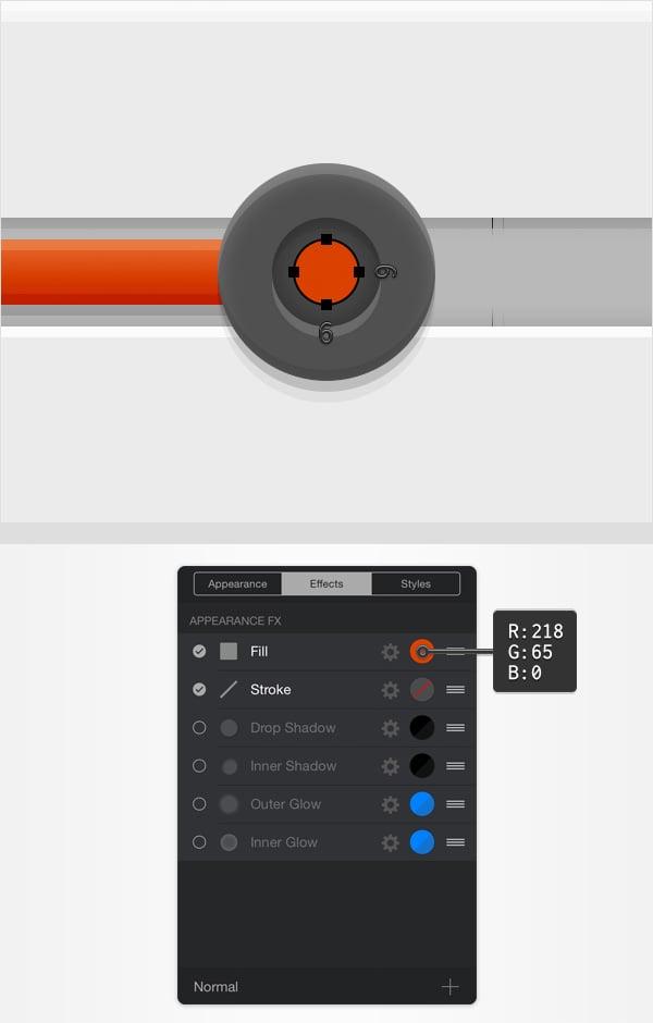create seek bar button