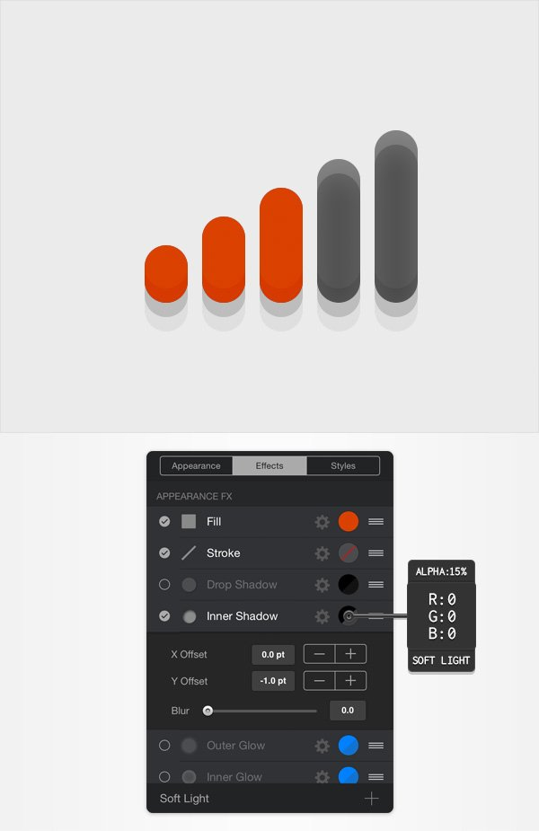 create volume bar