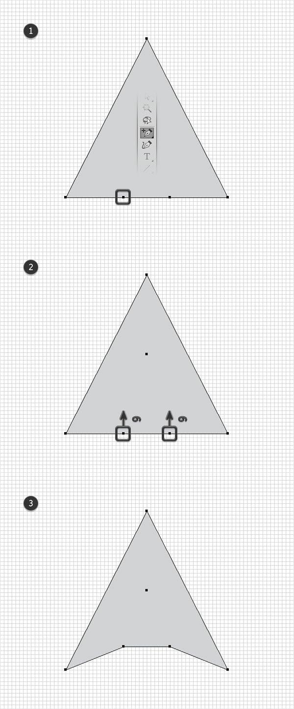 adjust triangle