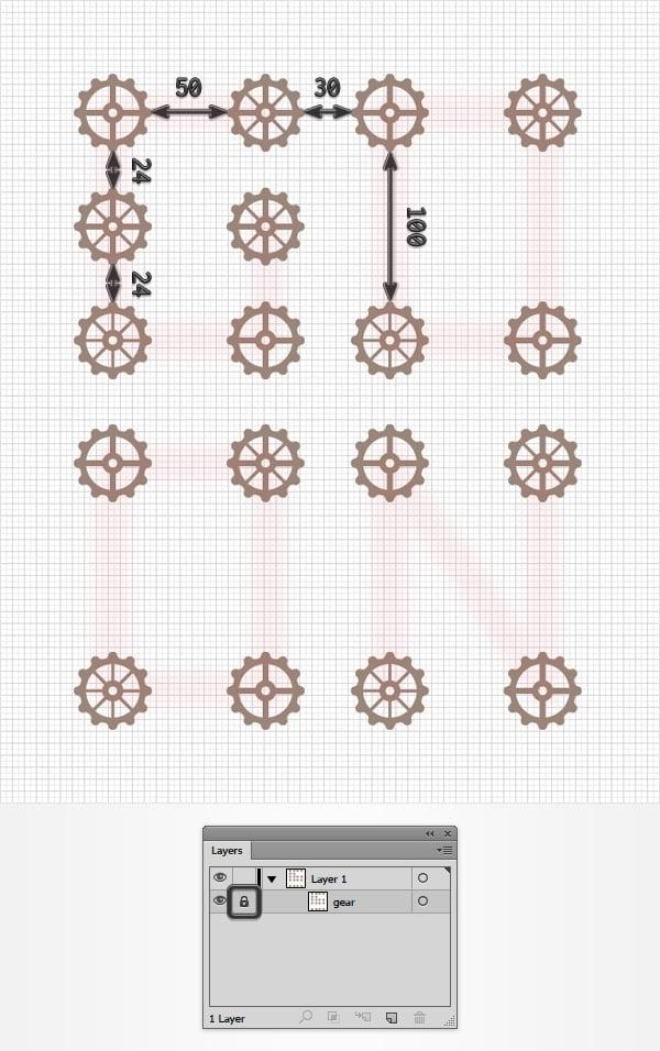 gear compound path
