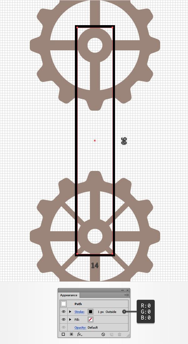black stroke rectangle
