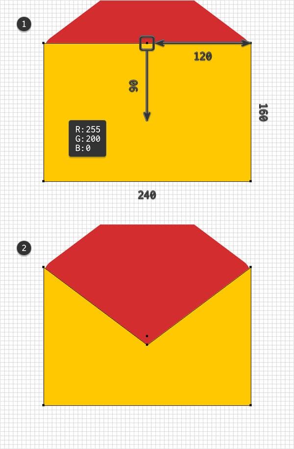 yellow shape