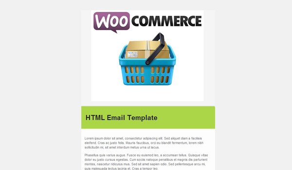 Email template with Header Image added