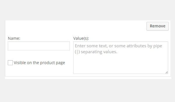 Add a custom product attribute