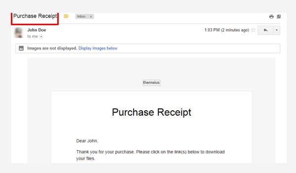 Easy Digital Downloads Emails Settings