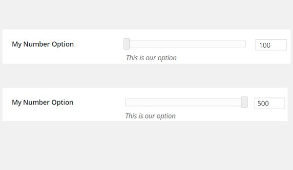 The My Number Option inside Tab 1 of admin panel Neat Options 2
