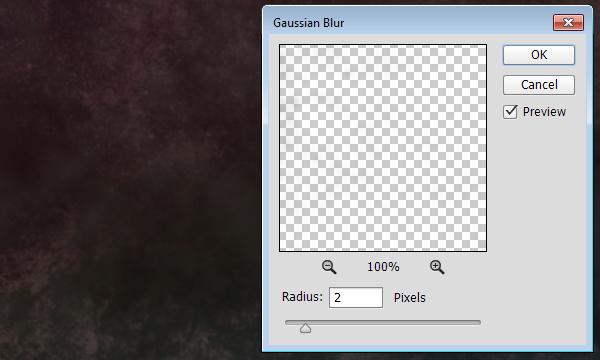 Grunge Brush Gaussian Blur