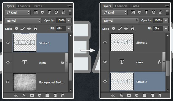 Creating the Copy Stroke Layers