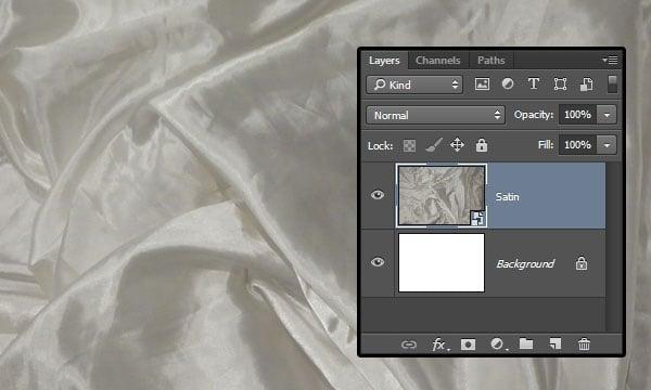 Adding the Satin Texture