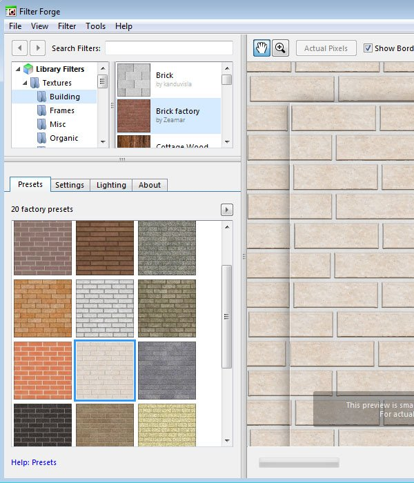 Brick Factory Texture