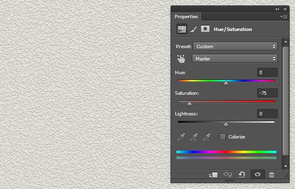 HueSaturation Adjustment Layer