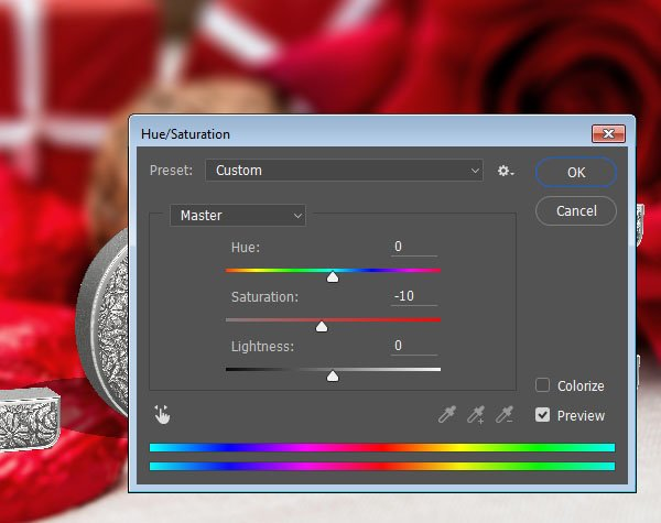 Background Image Saturation