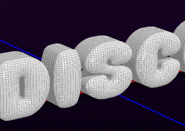 Extrusion UV Properties