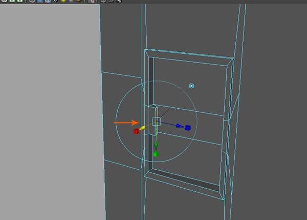 Insert two edge loops