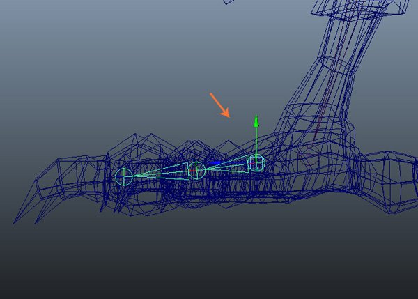 Create claw joints
