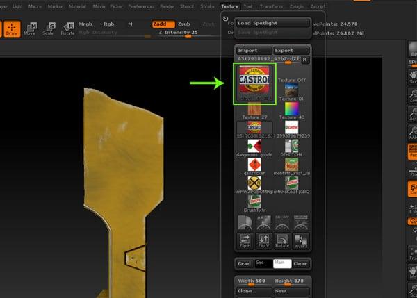 Spot light tool