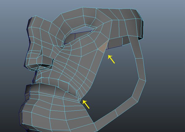 Merge the vertices
