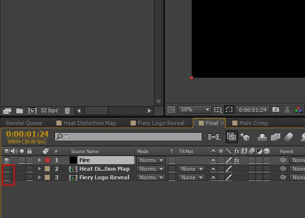 Turn off the visibility of layers