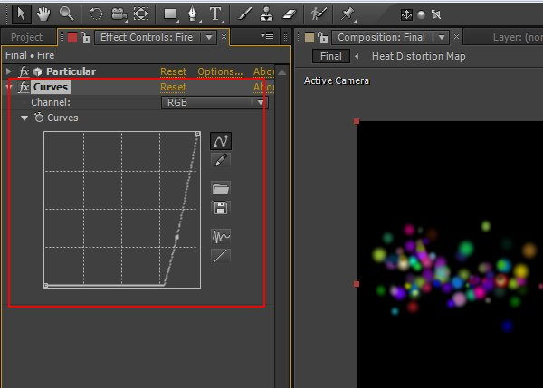 Effect Color Correction Curves