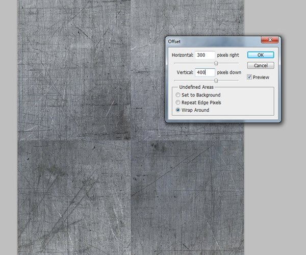 Setting the Values of the Offset Filter