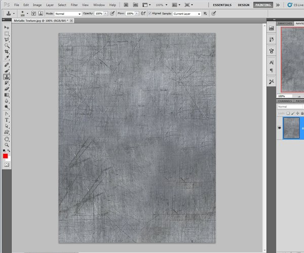 Finishing the Texture