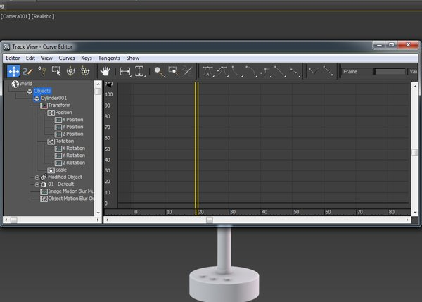 Track View Curve Editor