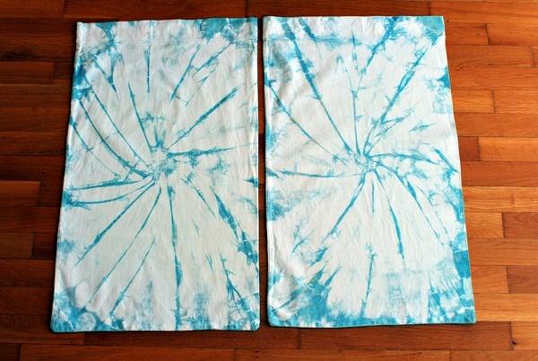 Finished dyed sheets