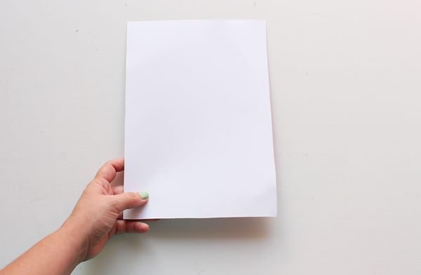 Place the page on on a flat surface