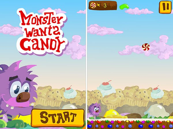 Monster Wants Candy demo