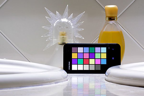 A normal household setting was used as a test bench for LED light bulbs