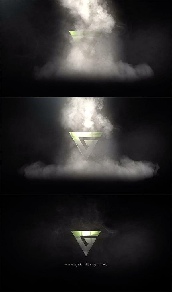 Epic Smoke Smoke - animacion de logotipo en After Effects