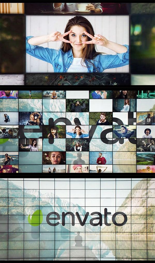 Multi-Screen - revelacion de logo de AE
