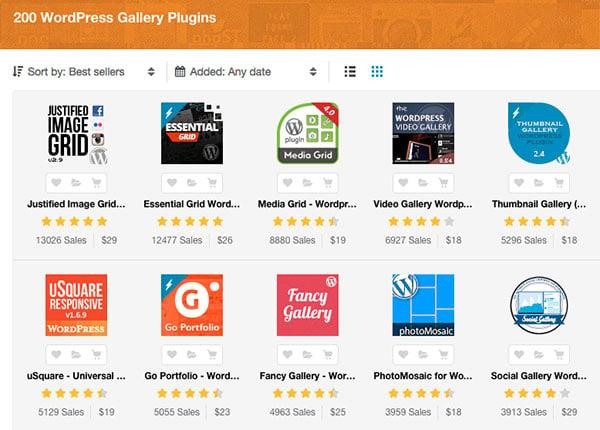 Wordpress Image Gallery Plugins