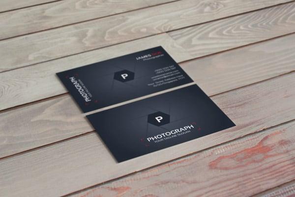 Photographer Creative Business Card