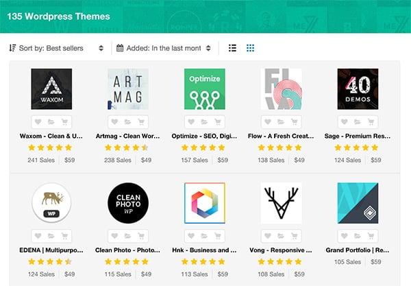 Best New WordPress Themes of 2016