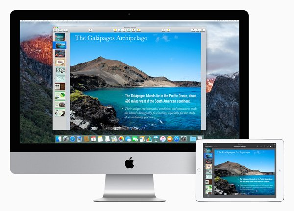 Keynote for Mac devices