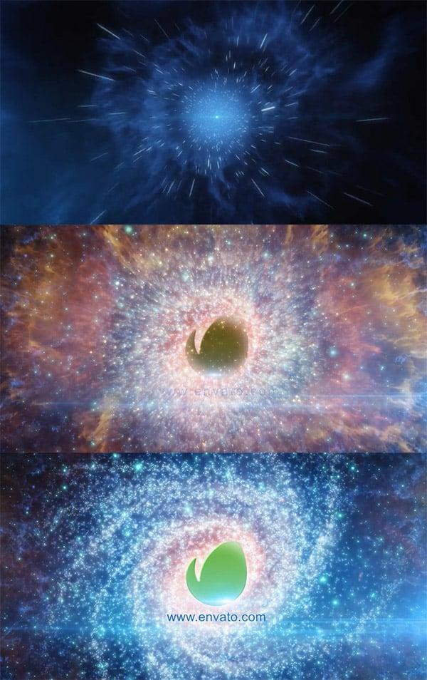 Galaxy Animation logo revealer