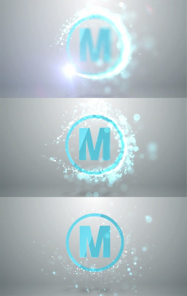 Quick Particle Logo After Effects
