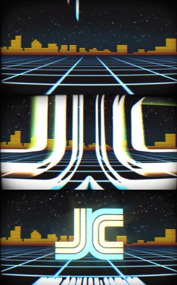 Retro Animaged Logo Reveal - VHS Tape