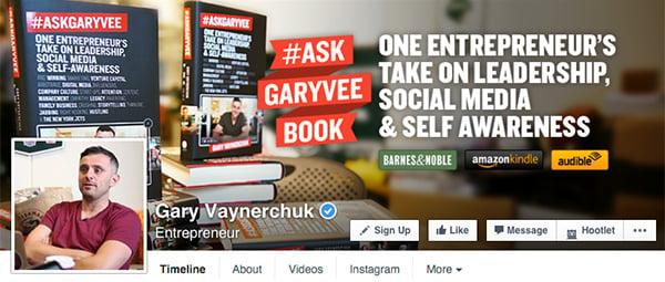Gary Vaynerchuck on Facebook