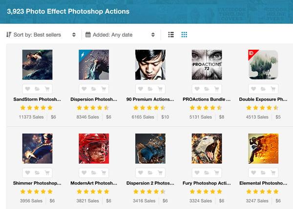 Best Photoshop photo effects