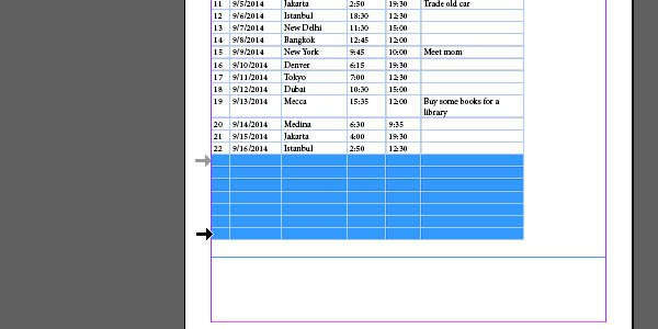 Importing Table